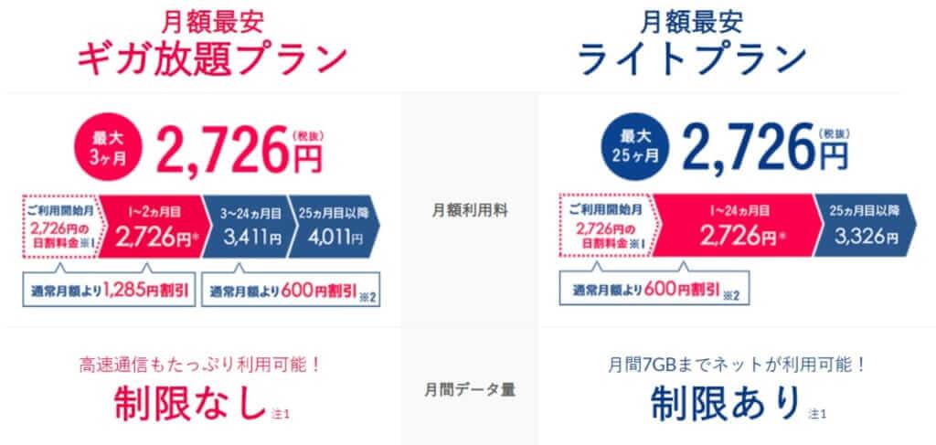 料金プラン-Broad-WiMAX