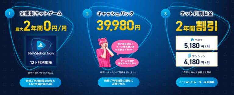 So-net-光-プラス-ゲーム特典